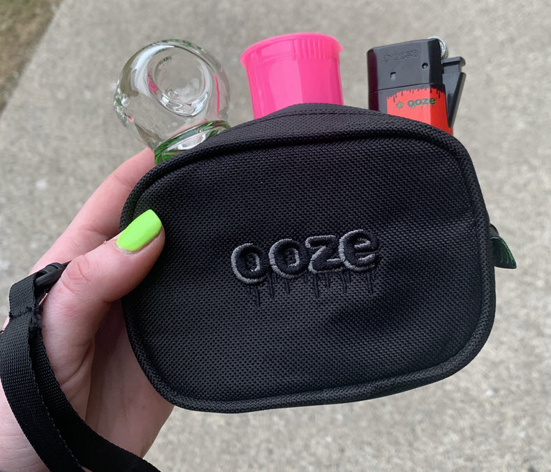ooze smell proof bag
